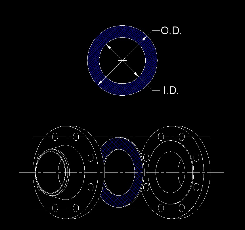 data gasket ring