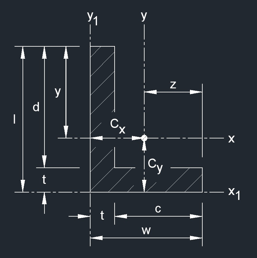 L beam rectangular 1