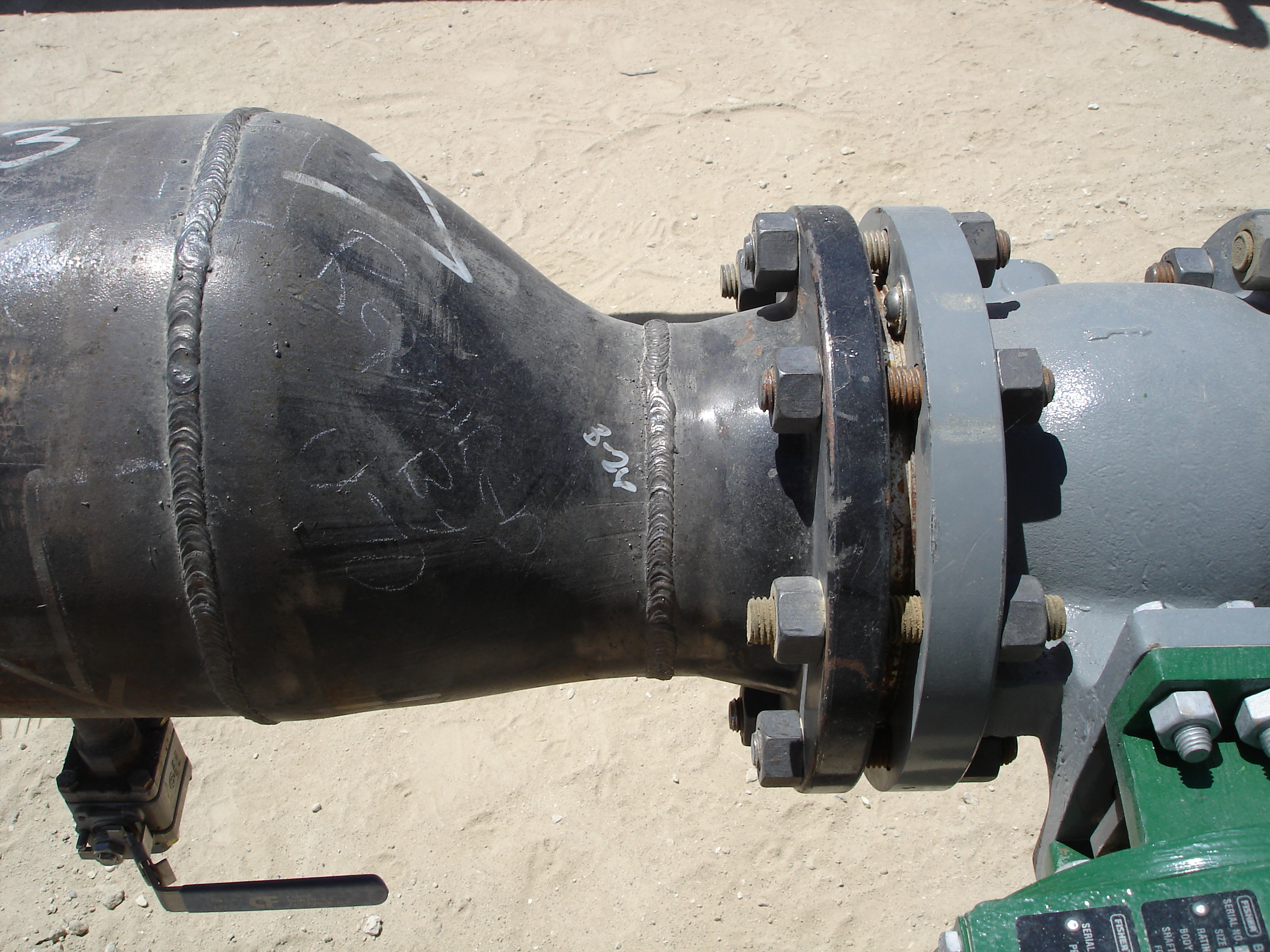 Eccentric Reducer Flat on Bottom