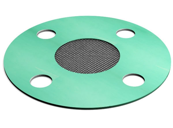 full face gasket strainer