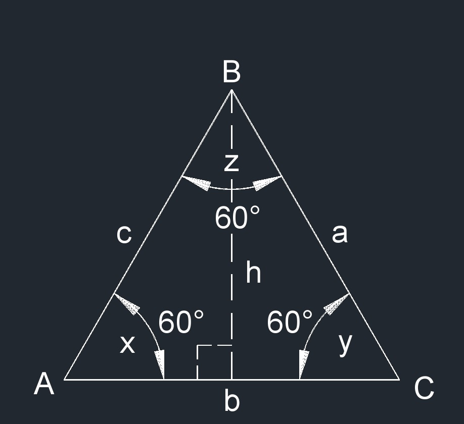 equilateral triangle 1