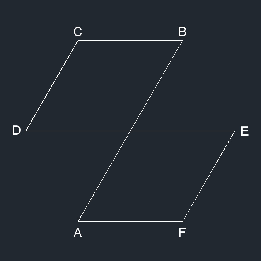 self intersecting polygon 1
