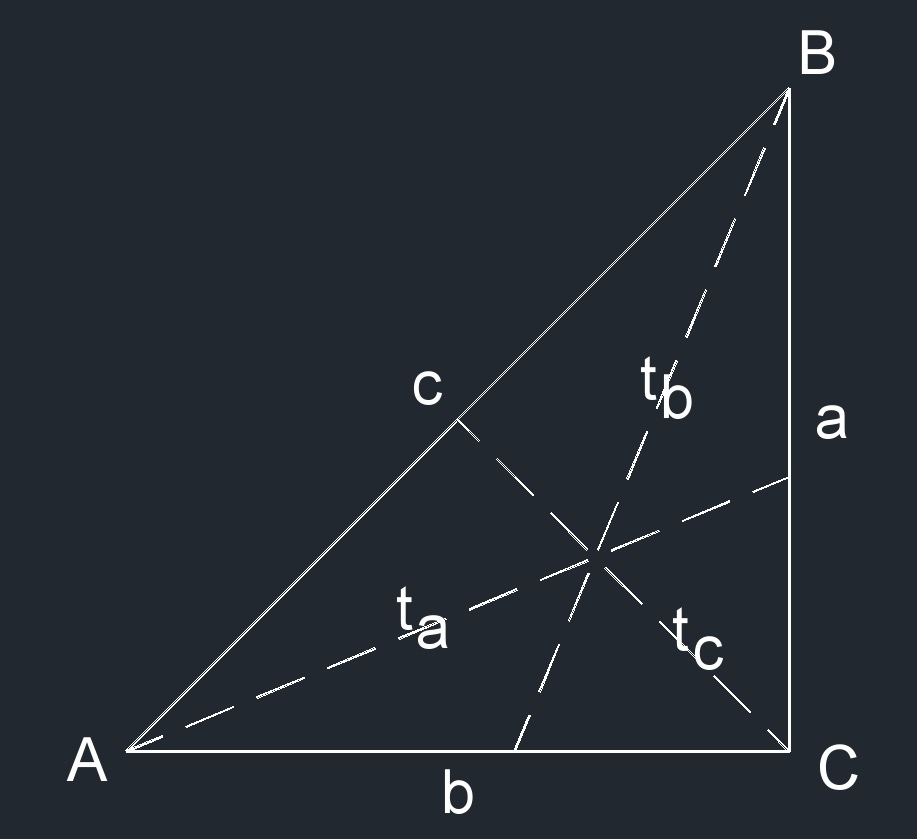 right isosceles triangle 4t