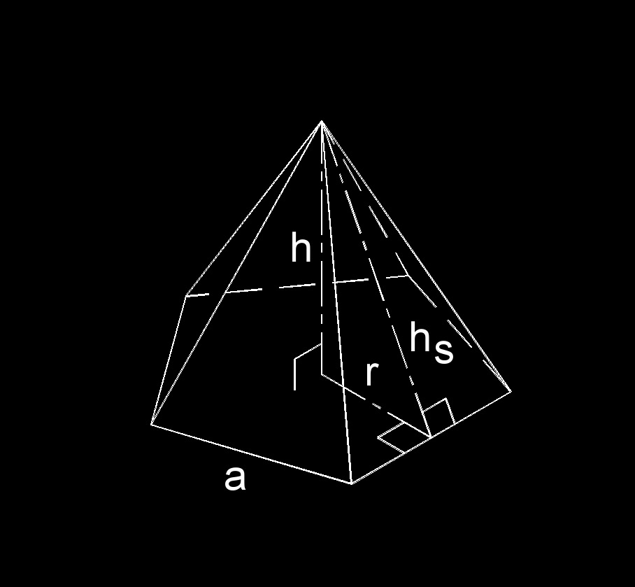 right pentagonal pyramid 3