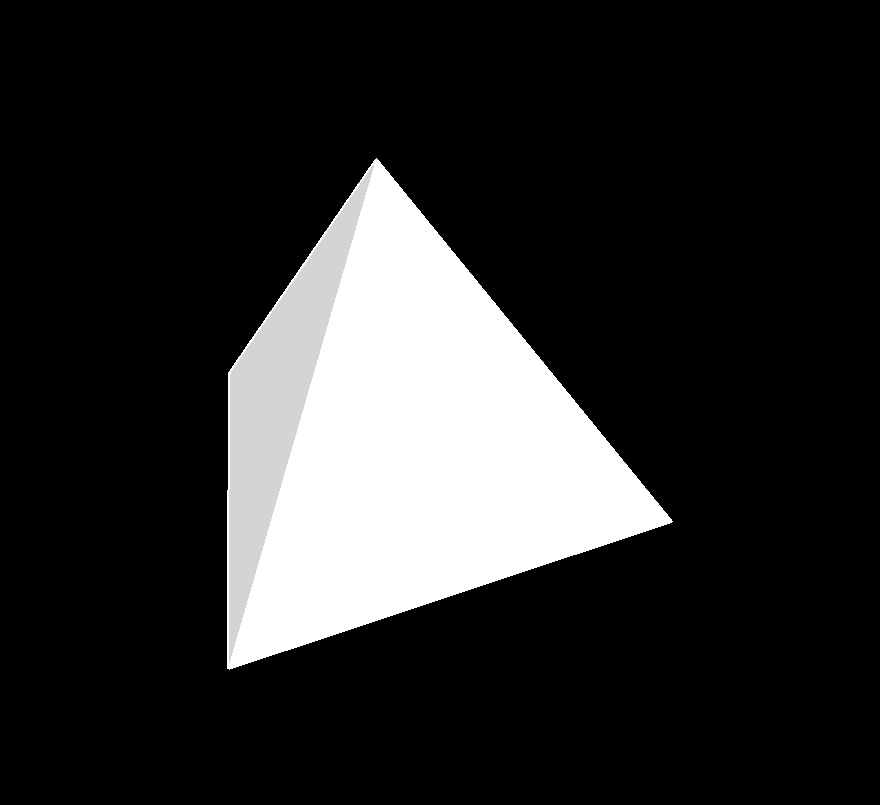 triangular pyramid 2